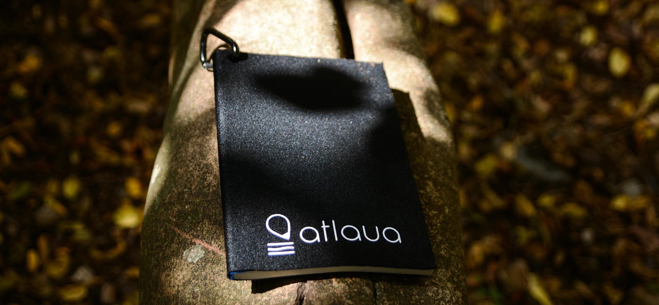 Atlaua black waterproof notebook for trekking adn camping (2)