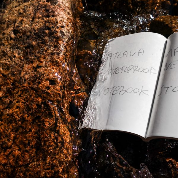 Stone paper waterproof notebook