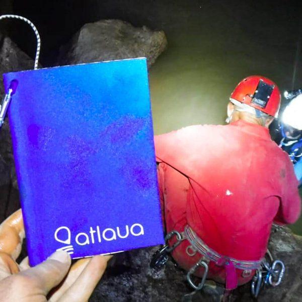 Atlaua taccuino impermeabile per rilievi speleologici e mappatura grotta