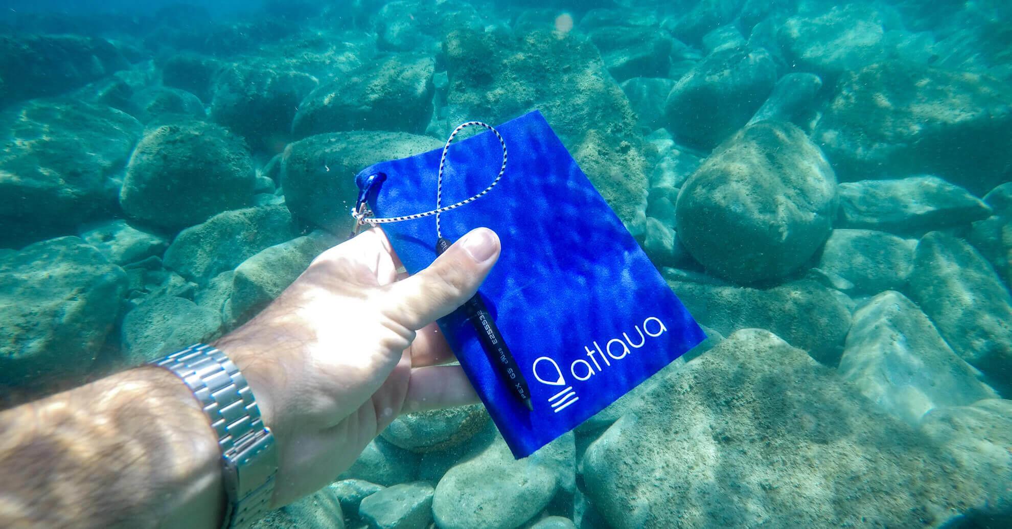 taccuino logbook impermeabile per scrivere sott'acqua
