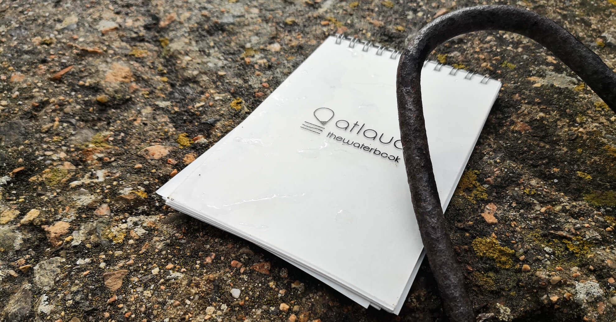 spiral notebook waterproof in stone paper