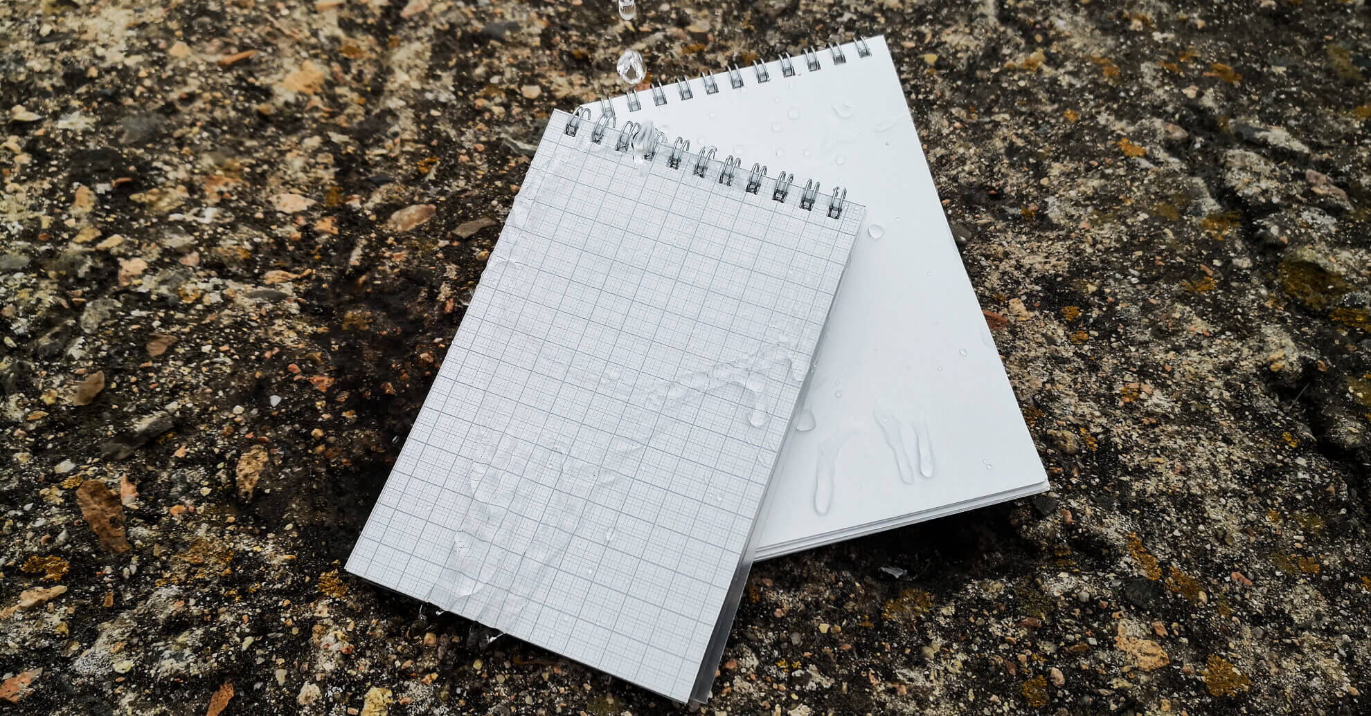 block notes carta impermeabile millimetrata