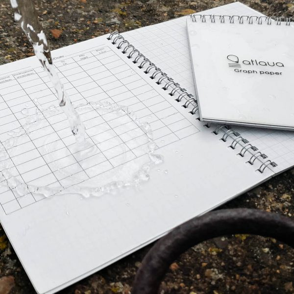 Atlaua waterproof Cave surveying notebook