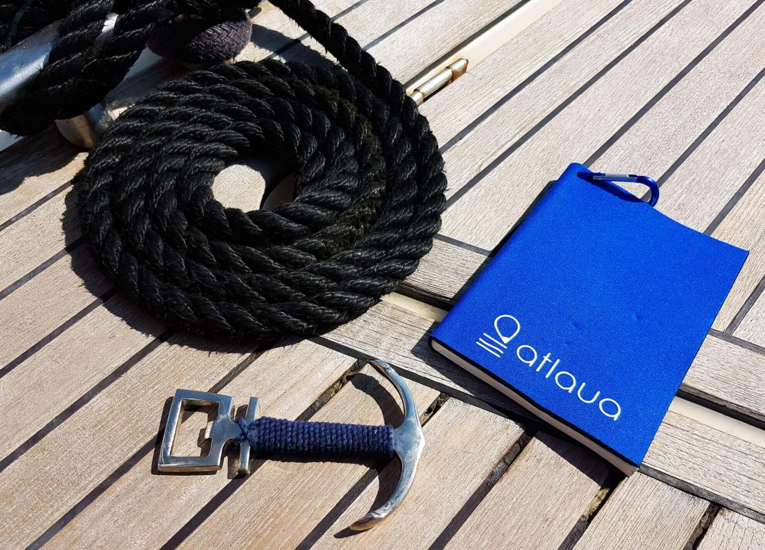 Atlaua blog waterproof notebook for sailing