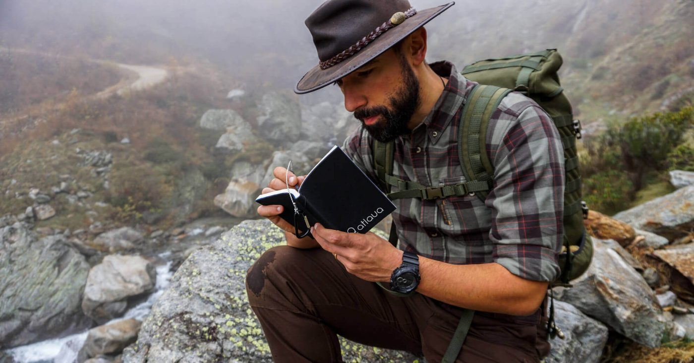 bushcraft waterproof notebook